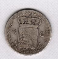 1/2 GULDEN 1848 A - 1849-1890 : Willem III