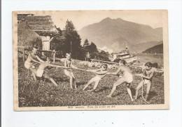 LEYSIN 6012 CURE DE SOLEIL EN ETE (ENFANTS CHAHUTANT) - VD Vaud