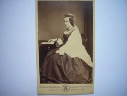 Photo CDV Angleterre - Elizabeth Georgiana Campbell Duchess Of Argyll - Marquis Of Lorne's Mother - Photographs