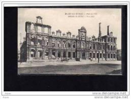 51 REIMS   Hotel De Ville - Guerre 1914-18