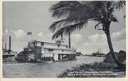 Colombie - Colombia Barranquilla - Vapor Fluvial - Bâteau Vapeur à Roue  - 1938 - Colombie