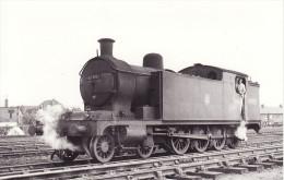 Railway Photo LNER T1 69915 Selby 1956 NER Raven 4-8-0T Loco North Eastern - Eisenbahnen