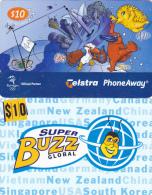 Australia  - - -  2 Cards  - - -  Sydney 2000 And Super Buzz - Australien