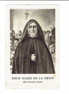 Kl 2544 ( 2 Scans ) Soeur Maria De La Coix Nee Jeanna Jugan - Religione & Esoterismo