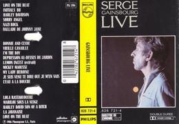 "Serge Gainsbourg  ""  Live  "" - Casetes"