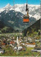 AT.- Montafoner Hochjochbahn. Schruns Mit Zimba Und Vandanser Steinwand. - Oostenrijk. - 2 Scans - Schruns