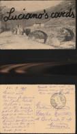 4342) FRANCHIGIA 8^ DIVISIONE CARNIA?? ANTICO PONTE CONTADINO CON MUCCA DONNA CON BAMBINE VIAGGATA 1915 - Altri