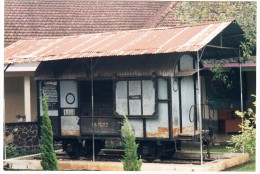 Gerbong Maut: WAGON Of The BONDOWOSO  DEATH TRAIN ´47 - Indonesia / Nederlands Indië - Treni