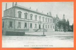 """Dpt  58  Nevers  """"  Hotel De Ville Et Palais Ducal  """" Pub Thé Celeste Empire Au Dos - Nevers"""