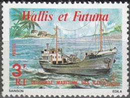 Wallis & Futuna 1980 Yvert 255 Neuf ** Cote (2015) 0.35 Euro La Moana - Neufs