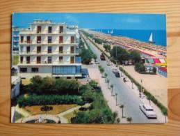 Rn1396)  Riccione  - Lungomare E Spiaggia - Rimini
