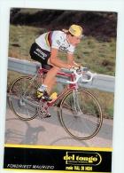 Maurizio FONDRIEST , Champion Du Monde. 2 Scans. Cyclisme. Del Tongo - Cyclisme