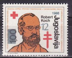 YUGOSLAVIA 1988. Tuberculosis,  MNH (**):VF - Wohlfahrtsmarken