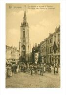 België - De Reus Van Veurne In Doornik -  Le Géant De Furnes à Tournai    SPORKIN - Veurne