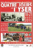 Revue Officielle De La 43eme Marche Des 4 Jours De L´Yser Vierdaagse Van De IJzer Oostduinkerke (Belgique) Août 2015 - Sport