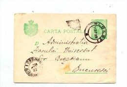 Carte Postale 5 Roi Cachet Loesti  + ? - Postal Stationery
