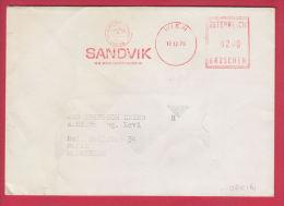 203214 / WIEN 17.12.1975 0200 GROSCHEN , SANDVIK  Machine Stamps (ATM) Austria Österreich - Machine Stamps (ATM)