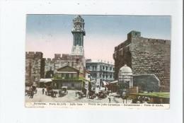 JERUSALEM PORTE DE JAFFA  .JAFFA GATE 1928 - Israele