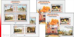 Burundi BL 0562/63** Réouverture Du Rijksmuseum D'Amsterdam - MNH - 4 Blocs: Full Set  ! - Burundi