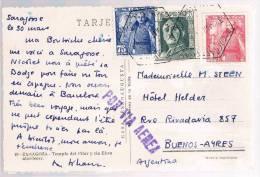 España, 1951, Saragoça-Buenos-Aires - 1931-Aujourd'hui: II. République - ....Juan Carlos I