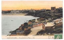 35 - SAINT-LUNAIRE - Vue Générale De La Plage - Ed. LL Colorisée - 1915 - Saint-Lunaire