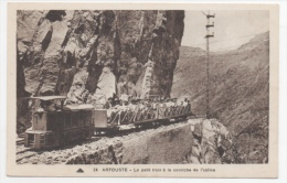 64 PYRENEES ATLANTIQUES - ARTOUSTE Le Petit Train à La Corniche De L'Abîme - Altri Comuni