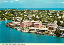 BERMUDAS      PRINCESS HOTEL    TIMBRE  CACHET - Bermudes