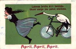 Latvia. Lettland. April! April! April! - Latvia