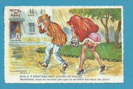 CPSM 1136 Fantaisie Humour Pin Up érotique Illustrateur Jean CHAPERON - Chaperon, Jean