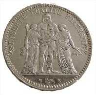 5 Francs -  France - Hercule - 1873 A - Argent - TTB - - J. 5 Franchi