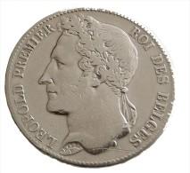 5 Francs -  Léopold Premier - Belgique - 1848 - TB+ - - 1951-1993: Baudouin I