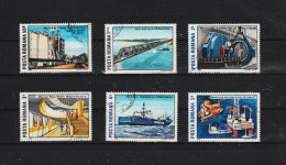 1989 -   L INDUSTRIE ROUMAINE  MI No 4538-4543  Et Yv No 3841/3846 - Usado