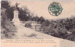 Gravelotte Champ De Bataille Monument Du 8e Bat De Chasseurs Prussiens Dans Le Ravin De Gravelotte (timbre Allemand) - Francia