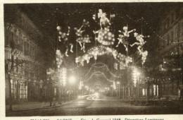CHALON SUR SAONE - Fêtes De Carnaval 1948 Décorations Lumineuses - Chalon Sur Saone