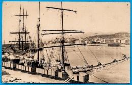 CPA 20 2B BASTIA Haute Corse - Le Nouveau Port ° J. Moretti * Bateaux Bateau Voiliers Voilier Train De Marchandises - Bastia