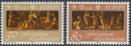 Liechtenstein 1985 EUROPA: European Year Of Music. Mi 866-867 MNH - Europa-CEPT