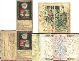 RARE Tramways Bruxellois    Exposition 1935 - Transports