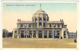 Entrance To Royal Pier, Southampton - Postmark 1937 - Southampton