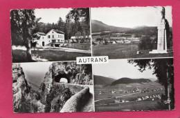 38 ISERE AUTRANS, Multi-Vues, Grands Goulets, Col De La Croix Perrin, 1954, (André, Grenoble) - Autres Communes
