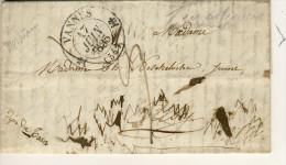 LETTRE  TAXE  DE  VANNES - Marcophilie (Lettres)