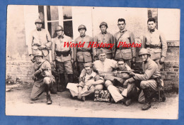 CPA Photo - SISSONNE ( Aisne ) - Manoeuvre Du 103e Régiment D' Artillerie - Voir Fusil à Baïonnette Uniforme Casque - Militaria
