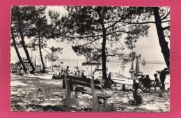 33 GIRONDE ANDERNOS, Bassin D'Arcachon, La Plage Du Mauret, Animée, 1959, (Berjaud, Bordeaux) - Andernos-les-Bains