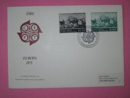 1975 Ireland - Europa CEPT (Paintings) - FDC - Europa-CEPT