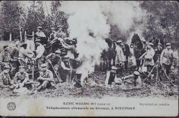 NIEUPORT TELEPHONISTES ALLEMANDS / SIGNEE CAPORAL DOYEN 14 EME COP 1915 - Belgique