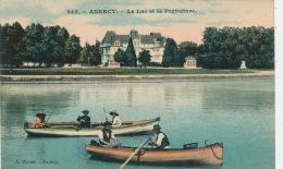 ANNECY - Le Lac Et La Préfecture (pêcheurs) - Annecy