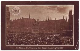 "The ""Handing Over"" Ceremony, City Square, Leeds Sept 16, 1903 - Delittle, Fenwick & Co - Leeds"