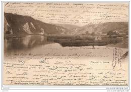 YVOIR ..-- Nels 7 , N° 122 . L´Ile Sur La Meuse .1902 Vers FEXHE - LE - HAUT - CLOCHER ( Melle M. Ernst ) . Voir Verso . - Yvoir