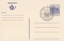 BELGIË/BELGIQUE:Illustr. Date Cancel On Post. St.:  ## 16-12-89 : WAREMME : Portes Ouvertes ## : POST,HERALDRY, - Armoiries
