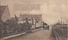 Lasne - Souvenir De Waterloo - La Haie Sainte - Circulé En 1912 - Véhicule Attelé - Ligne De Tramway - Sépia - TBE - Lasne