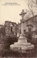 CPA - VEULES-les-ROSES (76) - Vue Du Calvaire Et Des Ruines St-Nicolas - Veules Les Roses